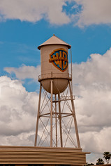 cloud, water tower, blue, sky,