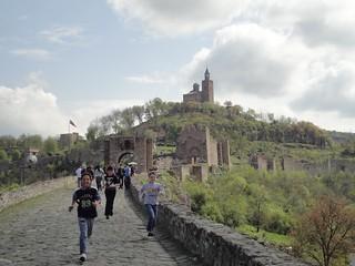 Fortaleza Tsarevets em Veliko Tarnovo, Bulgária