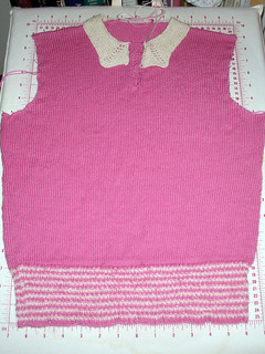 Briar Rose Jumper_Blocking