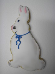bunny sugar cookie & royal icing