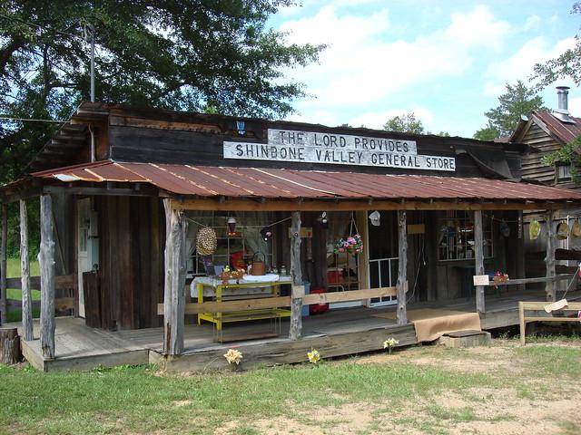 Shinbone Valley General Store, Shinbone Alabama