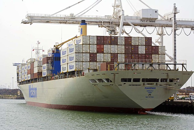 Matson container ship 3668 flickr photo sharing - Matson container homes ...