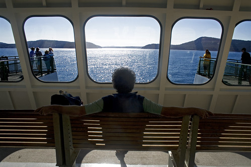 Washington State Ferry - enjoy the ride