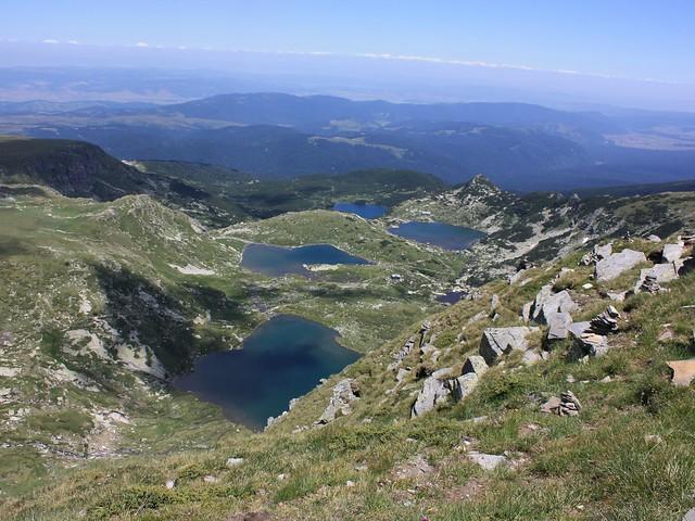 Los Siete Lagos de las Montañas Rila, Bulgaria