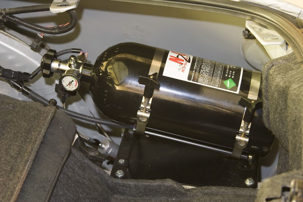 Nitrous Outlet Kit Lt1 Plate Kit Install Completed