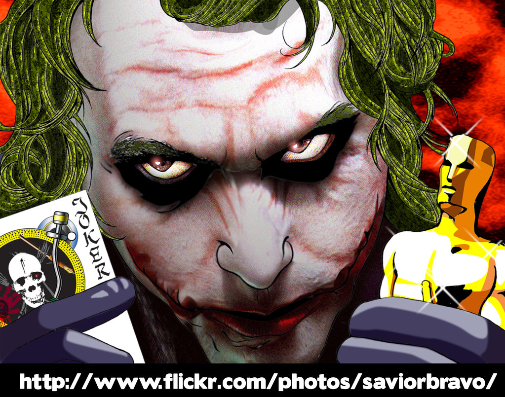 Heayh Ledger, The best Joker,The Oscar winner!