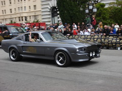 executive car(0.0), first generation ford mustang(0.0), sedan(0.0), convertible(0.0), automobile(1.0), vehicle(1.0), automotive design(1.0), shelby mustang(1.0), antique car(1.0), land vehicle(1.0), muscle car(1.0), sports car(1.0),