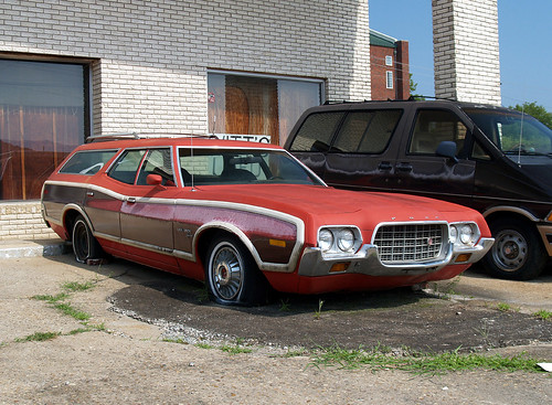 Swoopy woody 1972 Ford Gran Torino Squire