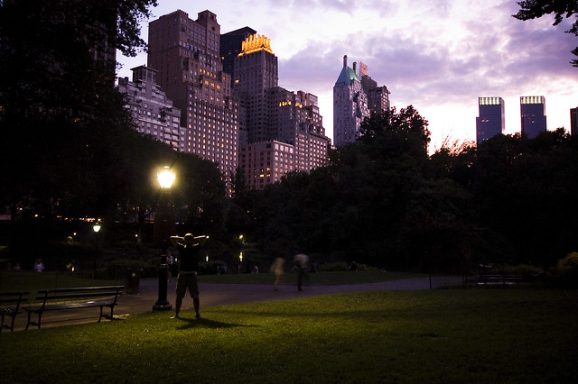Sunset at Central Park