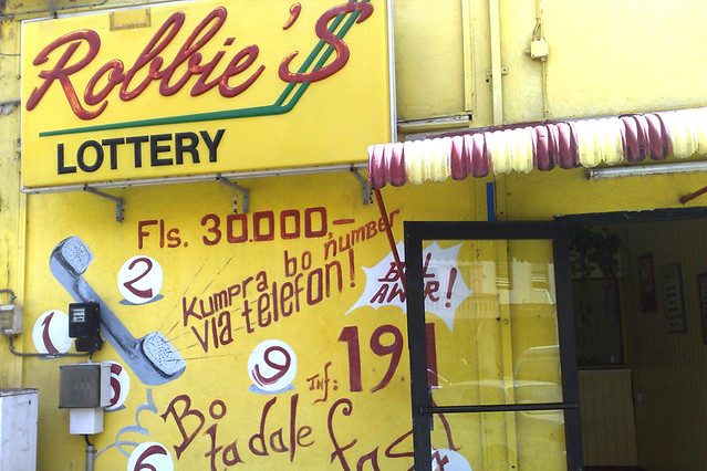 Robbies lottery result