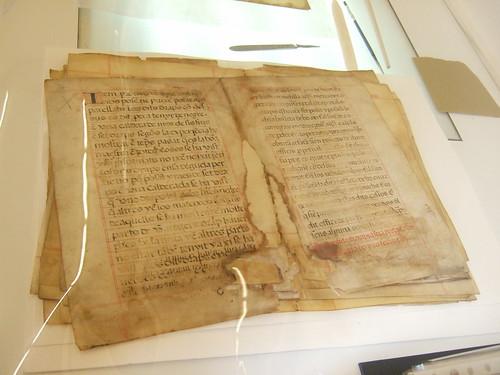 Manuscrito San Miguel de los Reyes