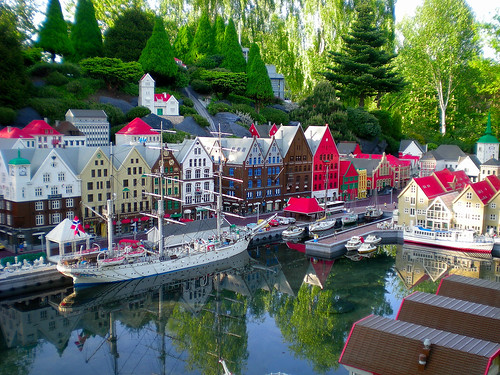 Legofishing Legovillage ...