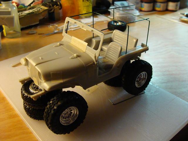 Jeep CJ-5 (1/25 scale model) rockcrawler