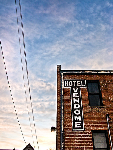 arizona sky sunrise hotel alley az prescott vendome hotelvendome
