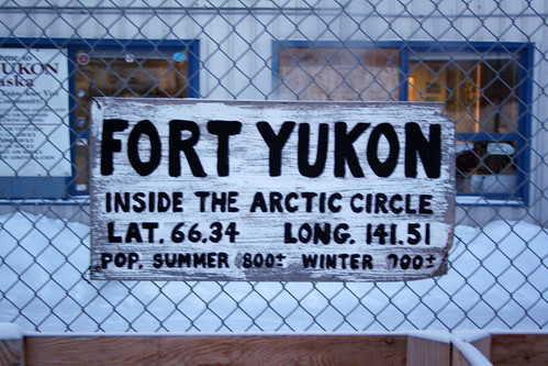 Fort Yukon Sign
