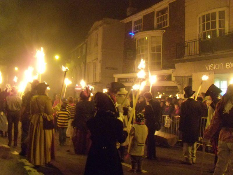 Marchers Lewes circular via Rodmell Lewes bonfire night