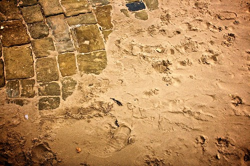 Sand on Cobbles by Edward Townend