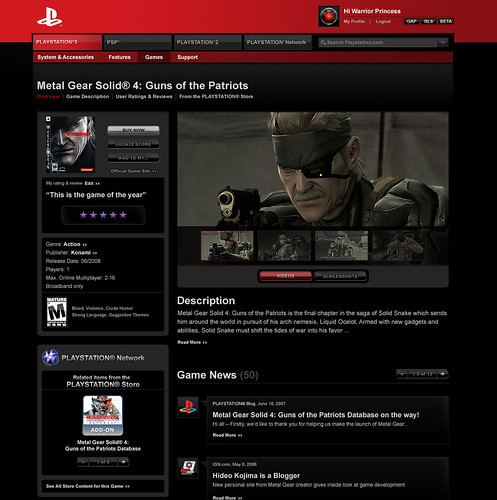 Get Off The Playstation 3 : Playstation underground is getting shut off page