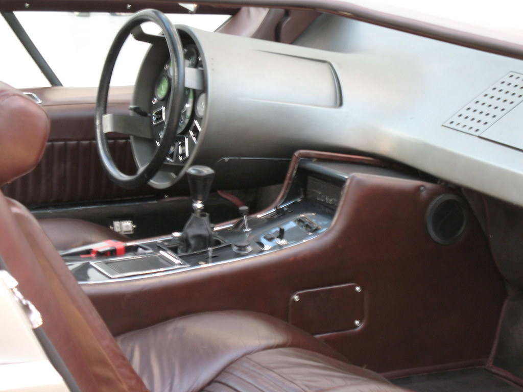 1972 maserati boomerang | the primary controls are fixed in … | flickr