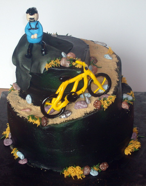 Mountain Bike Cake Recipe