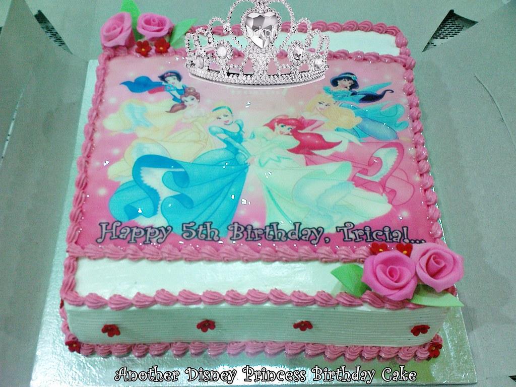Disney Princess Birthday Cake Sweetz Treats Flickr