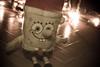 Spongebob bei weihnachtsvorbereitungen by makmaksan