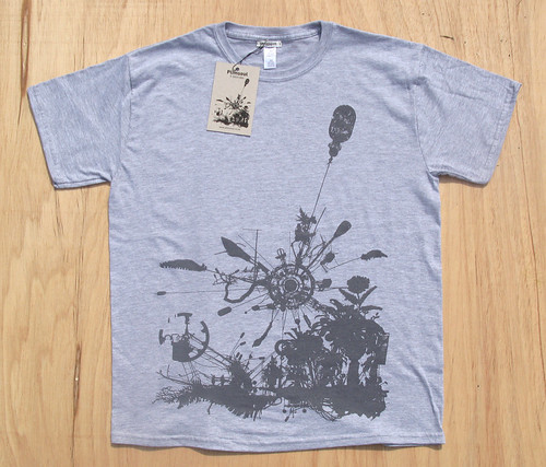 Plimsoul T-Shirt 002 grey