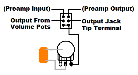 Bypassing This Active Magnetic/Piezo Pickup Preamp? | TalkBass.com