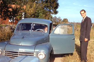 Ljungby - Folke Heiling and Volvo PV444 (1958)