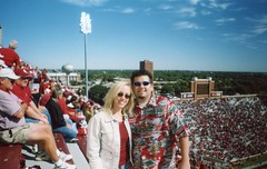 Will & Brittny at last game of the season-2004