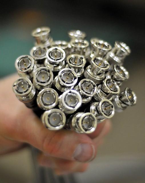 A Handful of BNC Connectors
