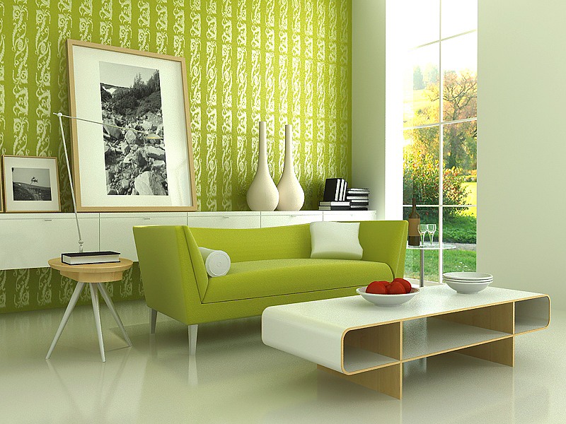 Green Furniture Design Magnificent 3 Cuttingedge Interior Design Trends  Schools Training Decorating Design
