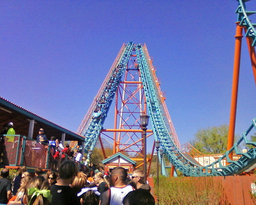 The Boomerang at Six Flags