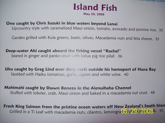 mamas fish house menu flickr photo sharing