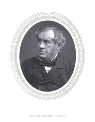 Portrait of William Robert Grove (1811-1896), Physicist and Chemist