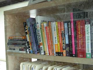 Graphic Designers bookshelf – Kirkland, Washington – June, 2008