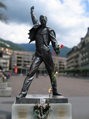 Freddie Mercury (1946-1991) - Montreux - Switzerland