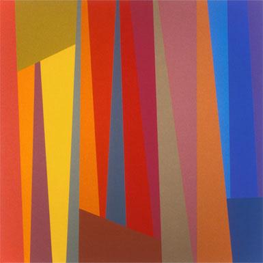 Artblog | Karl Benjamin uncovered and discovered at Geoform