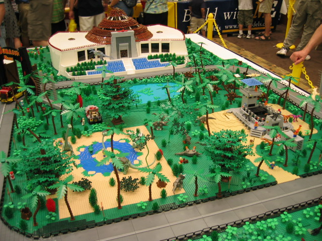 Lego jurassic park a gallery on flickr jurassic park lego display gumiabroncs Gallery