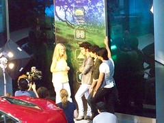 Jonas Brothers at GM World Headquaters (Detroit, Michigan)