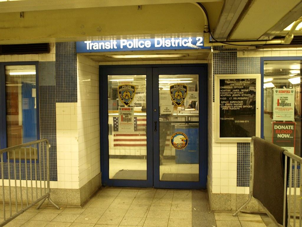Td nypd transit bureau district police station canal u flickr