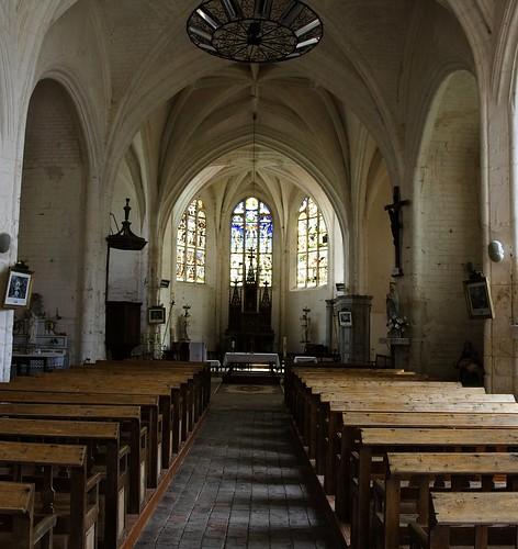 Villemoiron-en-Othe - Main Aisle
