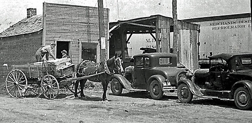 horse ford modela wagon dok1 barrycountymissouri butterfieldmissouri
