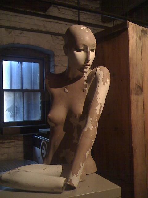 Mannequin in Storage