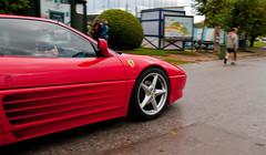 ferrari f40(0.0), ferrari f355(0.0), ferrari testarossa(0.0), race car(1.0), automobile(1.0), wheel(1.0), vehicle(1.0), automotive design(1.0), ferrari 348(1.0), bumper(1.0), ferrari s.p.a.(1.0), land vehicle(1.0), luxury vehicle(1.0), supercar(1.0), sports car(1.0),