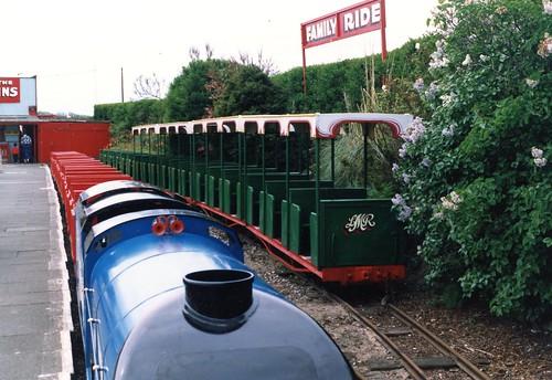 Lakeside Miniature Railway, Southport (early 1990s)