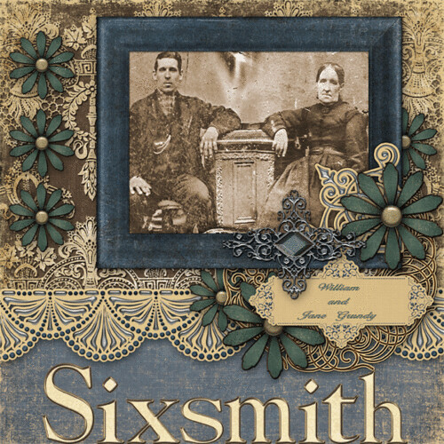 William & Jane Grundy Sixsmith