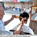 traditional barber  by Jahangir @