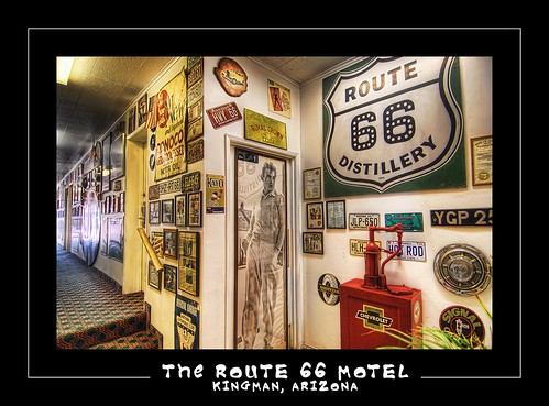 The Route 66 Motel, Kingman, Arizona, USA