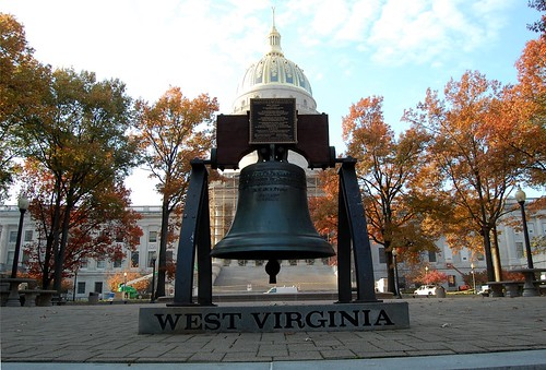 Liberty Bell Replica, State Capitol, Charleston, West Virginia (WV)